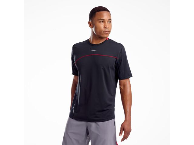saucony Drafty Shortsleeve Shirt Men black
